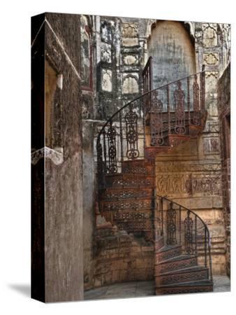 Spiral stairs, Mehrangarh Fort, Jodhpur, India