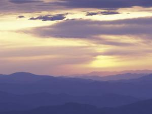 Sunrise from Clingman's Dome, Great Smoky Mountains National Park, Tennessee, USA by Adam Jones