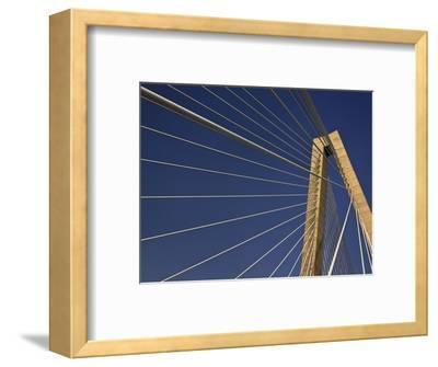 Suspension Details of Arthur Ravenel Jr. Bridge, Charleston