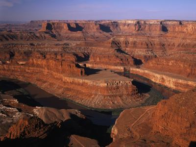 View of Dead Horse Point State Park with Colorado River, Utah, USA