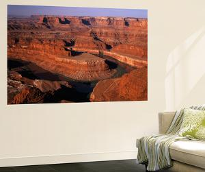 View of Dead Horse Point State Park with Colorado River, Utah, USA by Adam Jones