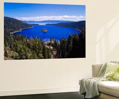 View of Emerald Bay in Lake Tahoe, California, USA by Adam Jones
