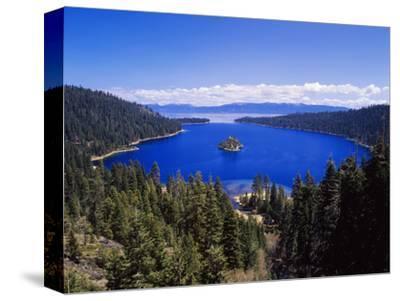 View of Emerald Bay in Lake Tahoe, California, USA