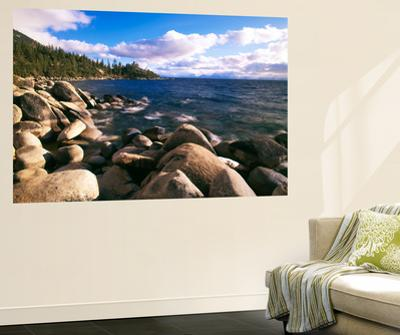 View of Lake Tahoe, Lake Tahoe Nevada State Park, Nevada, USA