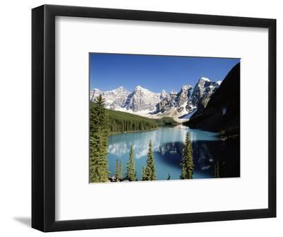 Wenkchemna Peaks and Moraine Lake, Banff NP, Alberta, Canada