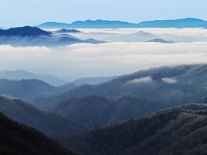 Winter View of Thomas Divide, Great Smoky Mountains National Park, North Carolina, USA by Adam Jones