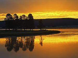 Yellowstone River at Sunrise, Hayden Valley, Yellowstone National Park, USA by Adam Jones