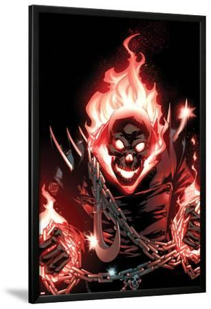 Ghost Rider No.1 Cover: Ghost Rider Flaming