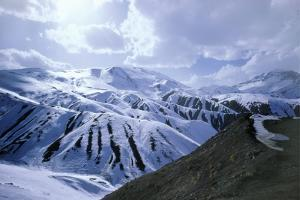 Alborz Mountain Range, Iran, Middle East by Adam Woolfitt