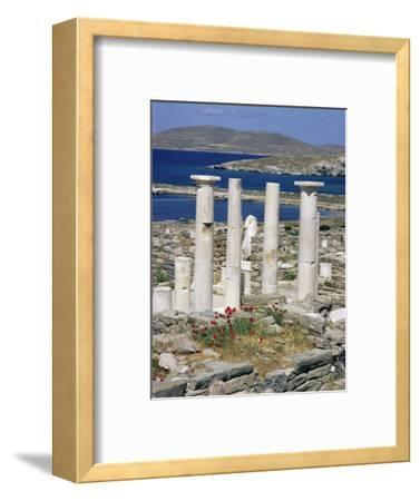 Archaeological Site, Delos, Unesco World Heritage Site, Greece