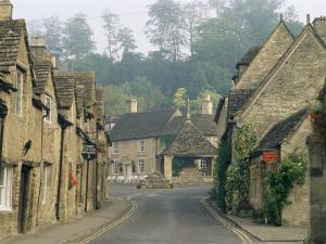 Castle Combe, by Brook Valley, Wiltshire, England, United Kingdom by Adam Woolfitt