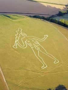 Cerne Abbas Giant, Dorset, England, UK by Adam Woolfitt