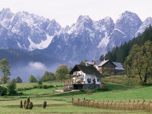 Dachstein Mountains, Austria by Adam Woolfitt