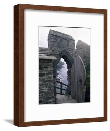 Doorway, Tintagel Castle, Cornwall, England, United Kingdom