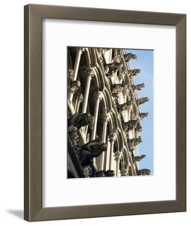 Facade with False Gargoyles, Eglise Notre-Dame, Dijon, Burgundy, France