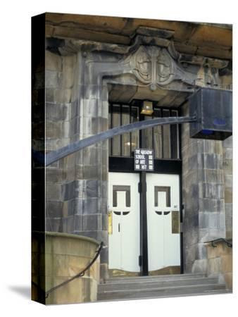 Glasgow School of Art, Designed by Charles Rennie Macintosh, Glasgow, Scotland