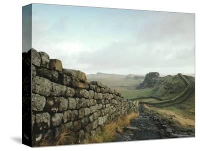 Hadrian's Wall, Towards Crag Lough, Northumberland England, UK