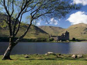 Loch Awe and the Ruins of Kilchurn Castle, Strathclyde, Scotland, United Kingdom by Adam Woolfitt