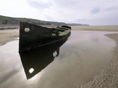 Omaha Beach, Basse Normandie (Normandy), France