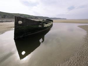 Omaha Beach, Basse Normandie (Normandy), France by Adam Woolfitt