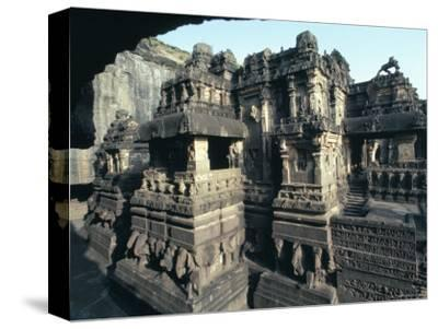 Rock-Cut Kailasa Temple, Ellora, Unesco World Heritage Site, Near Aurangabad, Maharashtra, India
