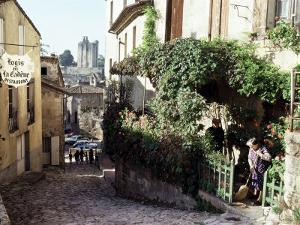 St. Emillion, Aquitaine, France by Adam Woolfitt