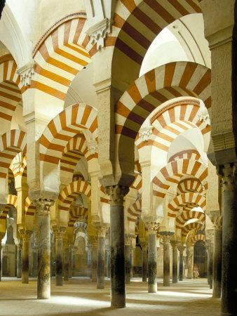 The Great Mosque, Unesco World Heritage Site, Cordoba, Andalucia (Andalusia), Spain