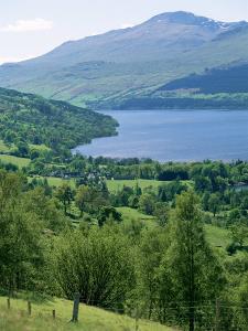 View of Loch Tay and Ben Lawers, Tayside, Scotland, United Kingdom by Adam Woolfitt