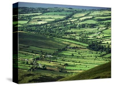 View Towards Lough Derg from Arra Mountains, County Clare, Munster, Republic of Ireland (Eire)