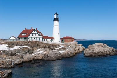Portland, Maine - Portland Head Light by adamparent