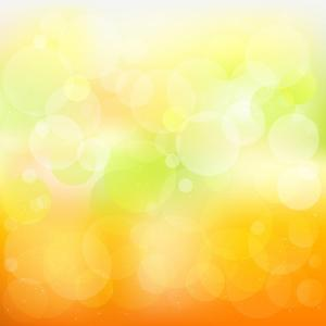 Abstract Orange And Yellow With Stars by adamson