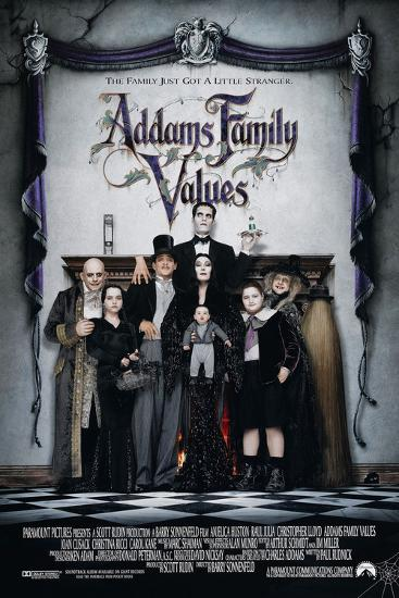 ADDAMS FAMILY VALUES [1993], directed by BARRY SONNENFELD.--Photographic Print