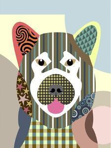 Akita Dog by Adefioye Lanre