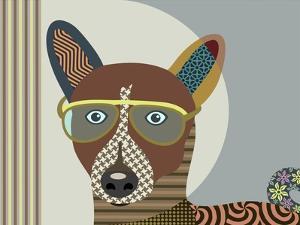 Basenji Dog by Adefioye Lanre