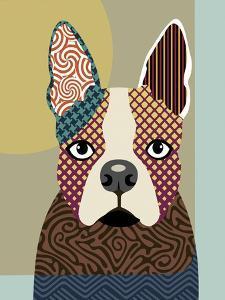 Boston Terrier by Adefioye Lanre