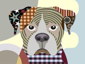 Boxer Dog by Adefioye Lanre