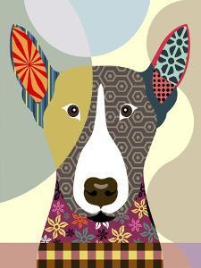 Bull Terrier by Adefioye Lanre