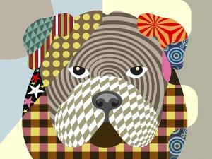 English Bulldog by Adefioye Lanre