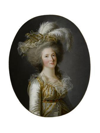 Élisabeth Philippine Marie Hélène De Bourbon by Adélaïde Labille-Guiard