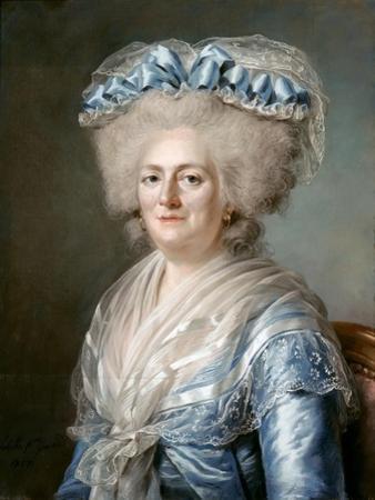 Marie Louise Thérèse Victoire of France (1733-179) by Adélaïde Labille-Guiard