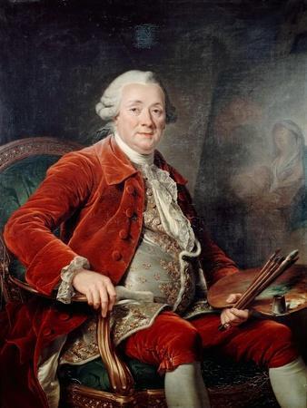 Portrait of Charles-Amédée-Philippe Van Loo