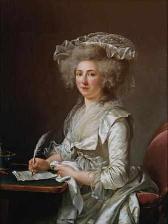 Portrait of Madame Roland by Adélaïde Labille-Guiard