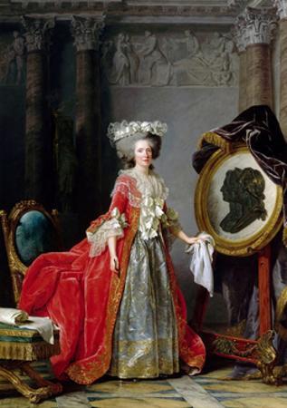 Princess Marie Adélaïde of France (1732-180) by Adélaïde Labille-Guiard