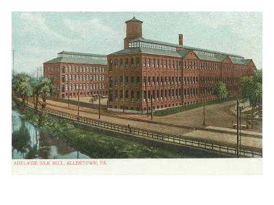 Adelaide Silk Mill, Allentown, Pennsylvania--Art Print