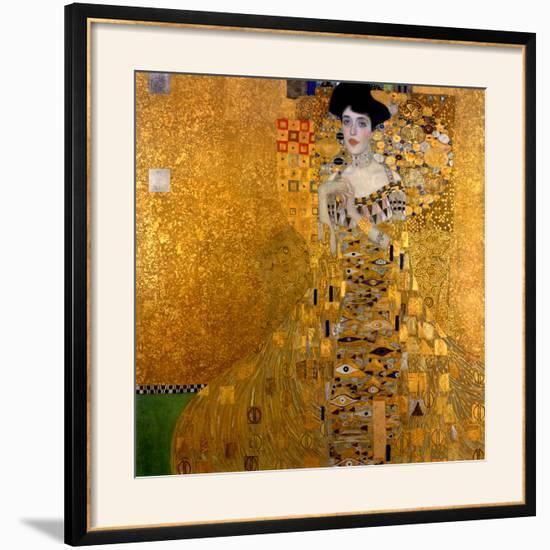Adele Bloch-Bauer I, 1907-Gustav Klimt-Framed Art Print