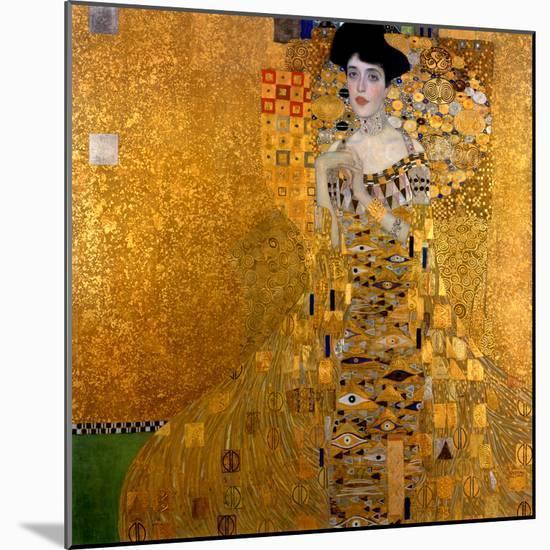 Adele Bloch-Bauer I, 1907-Gustav Klimt-Mounted Giclee Print