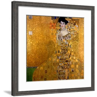 Adele Bloch-Bauer I, 1907-Gustav Klimt-Framed Giclee Print