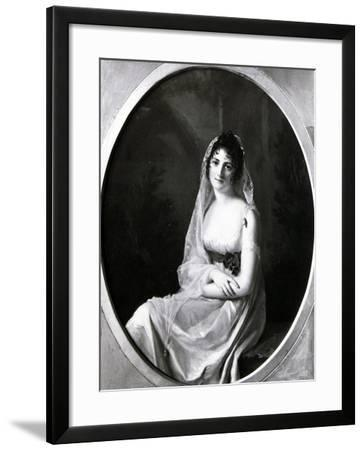 Adele De Sellon, Marquise of Cavour--Framed Giclee Print