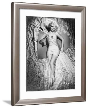 Adele Jergens--Framed Photographic Print
