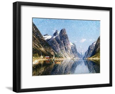 A Norweigan Fjord Scene